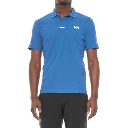 Helly Hansen Pier Polo Shirt - UPF 40, Short Sleeve (For Men) in Olympian Blue - Closeouts