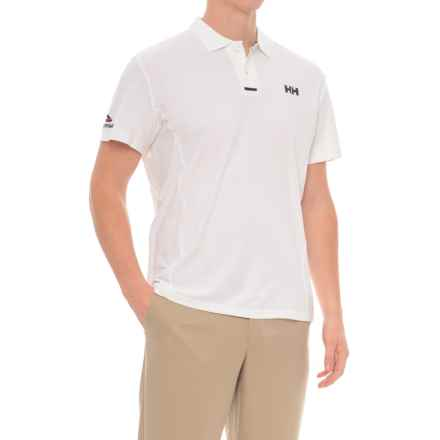 Helly Hansen Pier Polo Shirt - UPF 40, Short Sleeve (For Men) in White - Closeouts