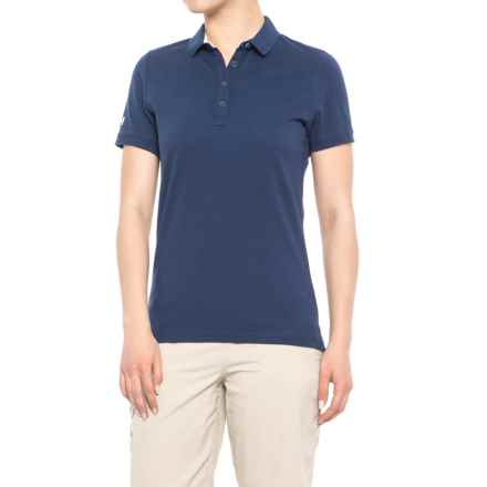 Helly Hansen Pique 2 Polo Shirt - Short Sleeve (For Women) in Evening Blue - Closeouts
