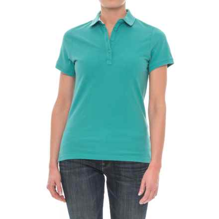 Helly Hansen Pique 2 Polo Shirt - Short Sleeve (For Women) in Latigo Bay - Closeouts
