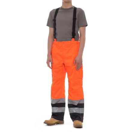 Helly Hansen Potsdam Polyurethane Work Pants - Waterproof (For Men) in 265 Orange/Navy - Closeouts