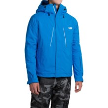 Helly Hansen Progress Jacket - Waterproof, Insulated (For Men) in Racer Blue - Closeouts
