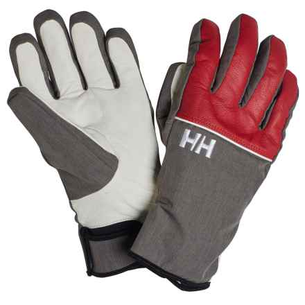 Helly Hansen Quest Helly Tech® Gloves - Waterproof, Insulated (For Women) in Flag Red/Ebony - Closeouts