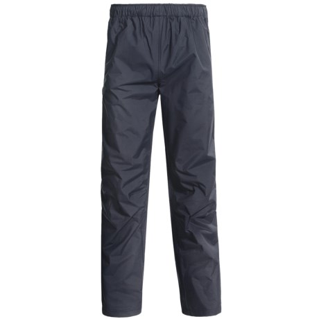 Helly Hansen Rainlight Essential Pants - Waterproof (For Men) in Black
