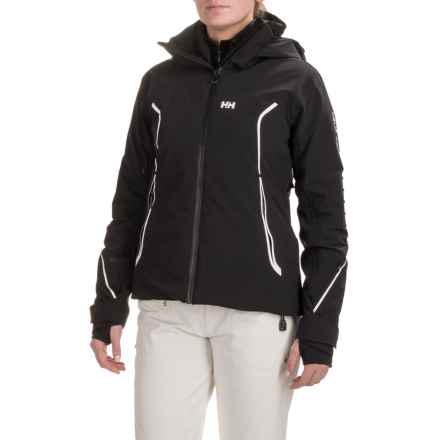 Helly Hansen Raptor PrimaLoft® Ski Jacket - Waterproof, Insulated (For Women) in Black - Closeouts