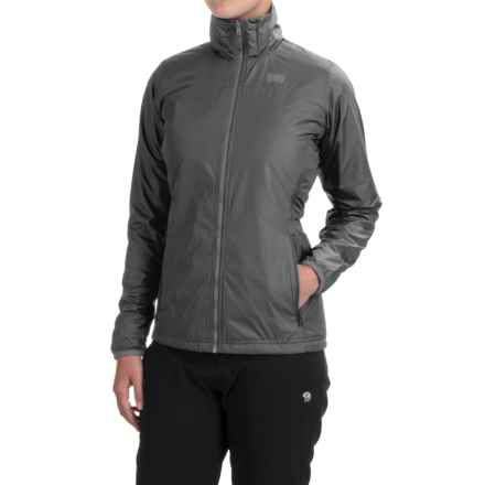 Helly Hansen Regulate Polartec® Midlayer Jacket (For Women) in Black - Closeouts