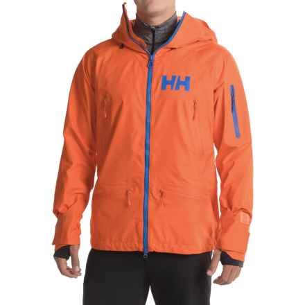 Helly Hansen Ridge Shell Jacket - Waterproof (For Men) in Magma - Closeouts