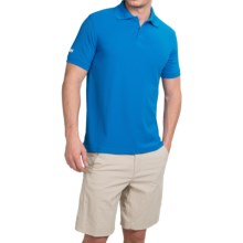 Helly Hansen Riftline Polo Shirt - Short Sleeve (For Men) in Cobalt Blue - Closeouts