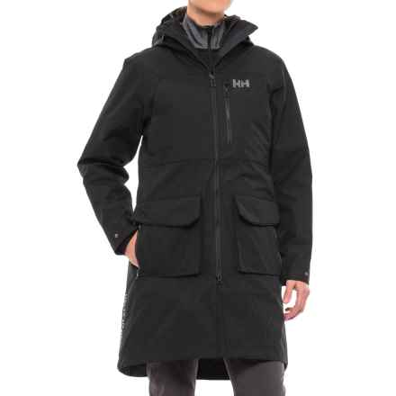 Helly Hansen Rigging Coat - Waterproof, Insulated, 3-in-1 (For Women) in Black - Closeouts