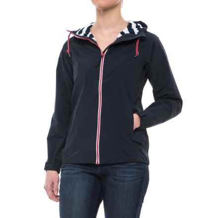 Helly Hansen Rigging Rain Jacket - Waterproof (For Women) in Navy - Closeouts