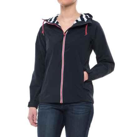 Helly Hansen Rigging Rain Jacket - Waterproof (For Women) in Navy - Closeouts