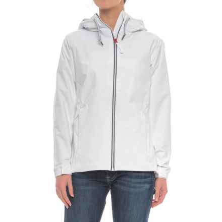 Helly Hansen Rigging Rain Jacket - Waterproof (For Women) in White - Closeouts