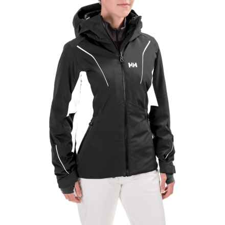 Helly Hansen Saint PrimaLoft® Jacket - Waterproof, Insulated (For Women) in Black - Closeouts