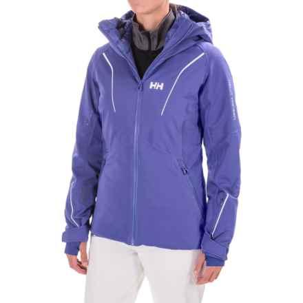 Helly Hansen Saint PrimaLoft® Jacket - Waterproof, Insulated (For Women) in Princess Purple - Closeouts