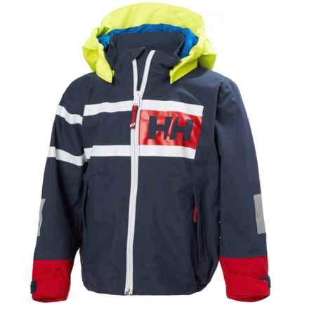 Helly Hansen Salt Power Jacket - Waterproof (For Little Kids) in Evening Blue - Closeouts
