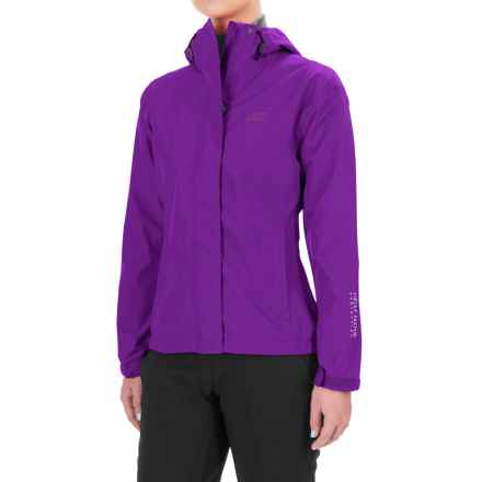 Helly Hansen Seven J Jacket - Waterproof (For Women) in Sunburned Purple - Closeouts