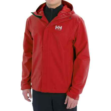 Helly Hansen Seven J Rain Jacket - Waterproof (For Men) in Red - Closeouts