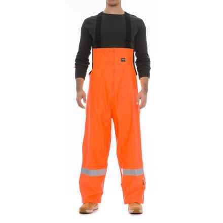 Helly Hansen Shelburne Bib Overalls - Waterproof (For Men) in Orange - Closeouts