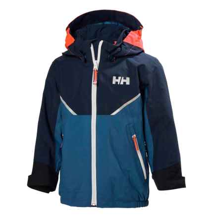 Helly Hansen Shelter Jacket - Waterproof (For Little Kids) in Marine Blue - Closeouts
