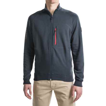Helly Hansen Shoreline Cardigan Jacket - Zip Front (For Men) in Navy - Closeouts