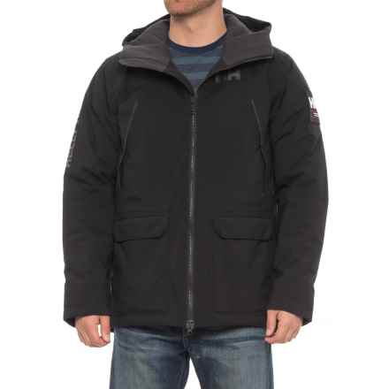 Helly Hansen Shoreline Parka - Waterproof, Insulated (For Men) in Black - Closeouts