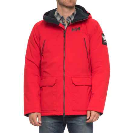 Helly Hansen Shoreline Parka - Waterproof, Insulated (For Men) in Flag Red - Closeouts