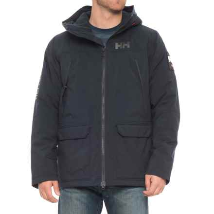 Helly Hansen Shoreline Parka - Waterproof, Insulated (For Men) in Navy - Closeouts