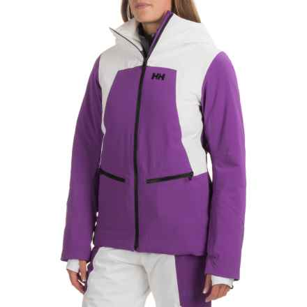 Helly Hansen Silverstar PrimaLoft® Ski Jacket - Waterproof, Insulated (For Women) in Sunburned Purple - Closeouts