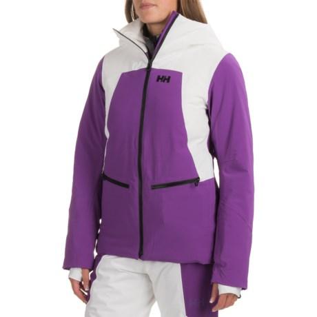 Helly Hansen Silverstar PrimaLoft® Ski Jacket - Waterproof, Insulated (For Women) in Sunburned Purple