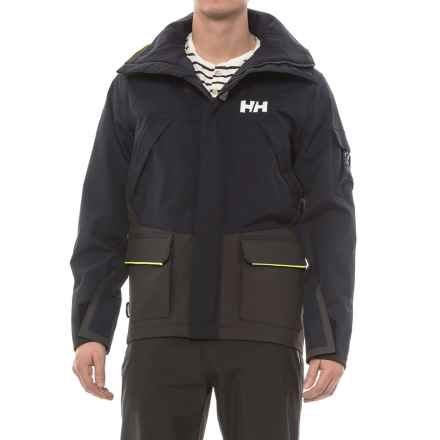 Helly Hansen Skagen 2 Jacket - Waterproof (For Men) in Navy - Closeouts
