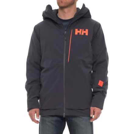 Helly Hansen Sogn Jacket - Waterproof, Insulated (For Men) in Graphite Blue - Closeouts
