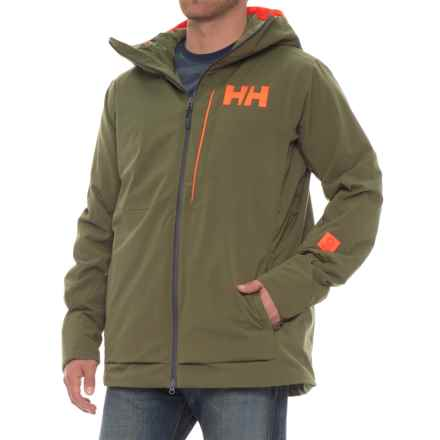 Helly Hansen Sogn Jacket - Waterproof, Insulated (For Men) in Ivy Green - Closeouts