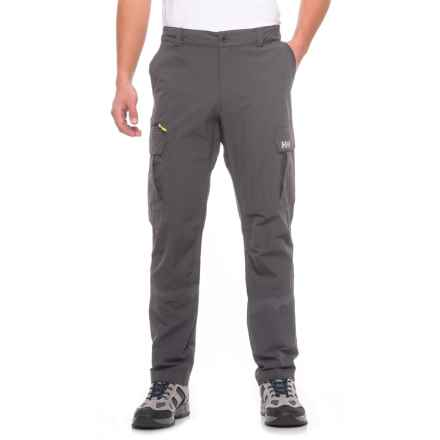 Helly Hansen Standard Cargo Pants - UPF 40+ (For Men) in Ebony - Closeouts