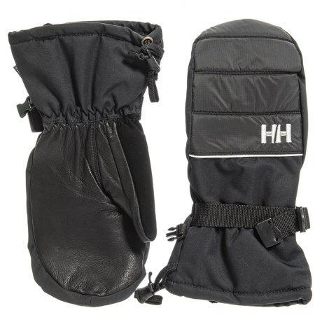 Helly Hansen Sunna Helly Tech® Mittens - Waterproof, Insulated (For Women) in Black
