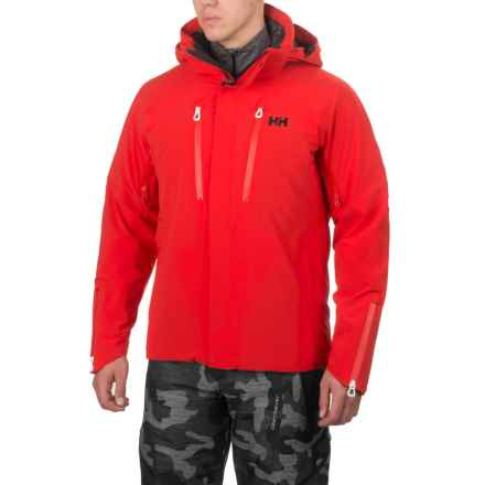 Helly Hansen Superstar Down Jacket - Waterproof, 650 Fill Power (For Men) in Alert Red - Closeouts