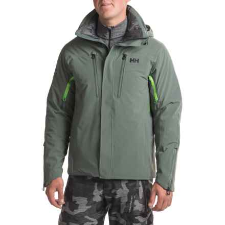 Helly Hansen Superstar Down Jacket - Waterproof, 650 Fill Power (For Men) in Rock - Closeouts