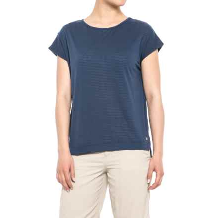 Helly Hansen Thalia T-Shirt - Short Sleeve (For Women) in Evening Blue - Closeouts