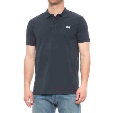 Helly Hansen Transat Polo Shirt - Short Sleeve (For Men) in Navy - Closeouts