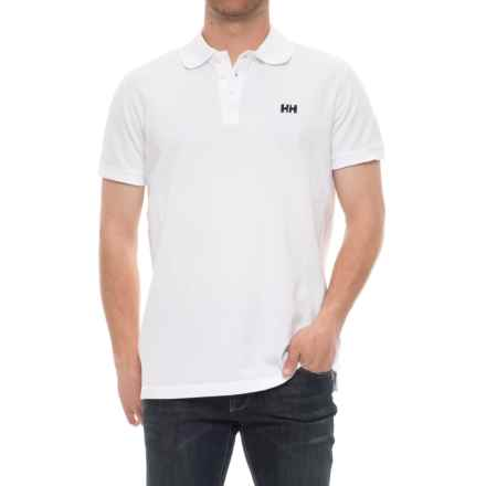 Helly Hansen Transat Polo Shirt - Short Sleeve (For Men) in White - Closeouts