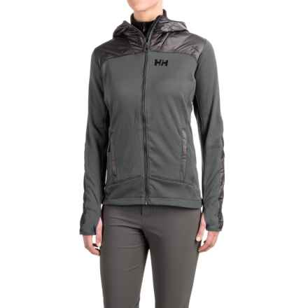 Helly Hansen Ullr PrimaLoft® Midlayer Jacket (For Women) in Ebony - Closeouts