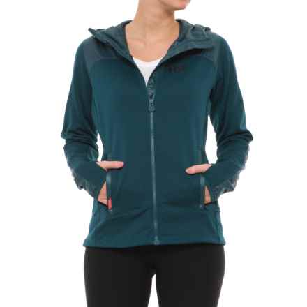 d255a60d2c7f Helly Hansen Ullr PrimaLoft® Midlayer Jacket (For Women) in Midnight Green  - Closeouts