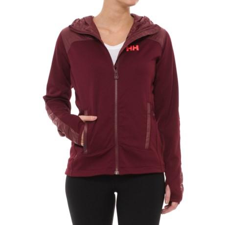 Helly Hansen Ullr PrimaLoft® Midlayer Jacket (For Women) in Port