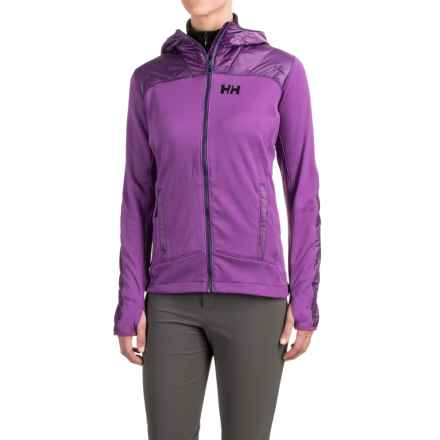 Helly Hansen Ullr PrimaLoft® Midlayer Jacket (For Women) in Sunburned Purple - Closeouts
