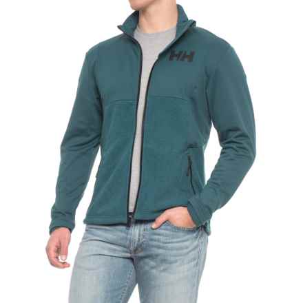 Helly Hansen Ullr Ski Fleece Jacket (For Men) in Midnight Green - Closeouts