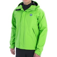 Helly Hansen Vancouver Jacket - Waterproof (For Men) in Vibrant Gre - Closeouts