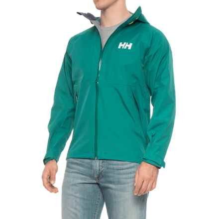 Helly Hansen Vanir Baldur Jacket - Waterproof (For Men) in Everglade - Closeouts