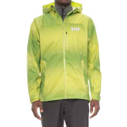 Helly Hansen Vanir Berg Jacket - Waterproof (For Men) in Bright Chartreuse - Closeouts
