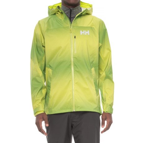 Helly Hansen Vanir Berg Jacket - Waterproof (For Men) in Bright Chartreuse