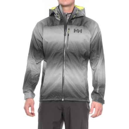 Helly Hansen Vanir Berg Jacket - Waterproof (For Men) in Ebony - Closeouts