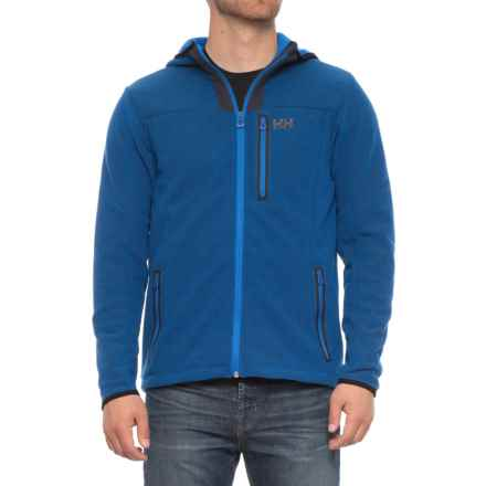 Helly Hansen Vanir Fleece Jacket - Hooded (For Men) in Olympian Blue - Closeouts